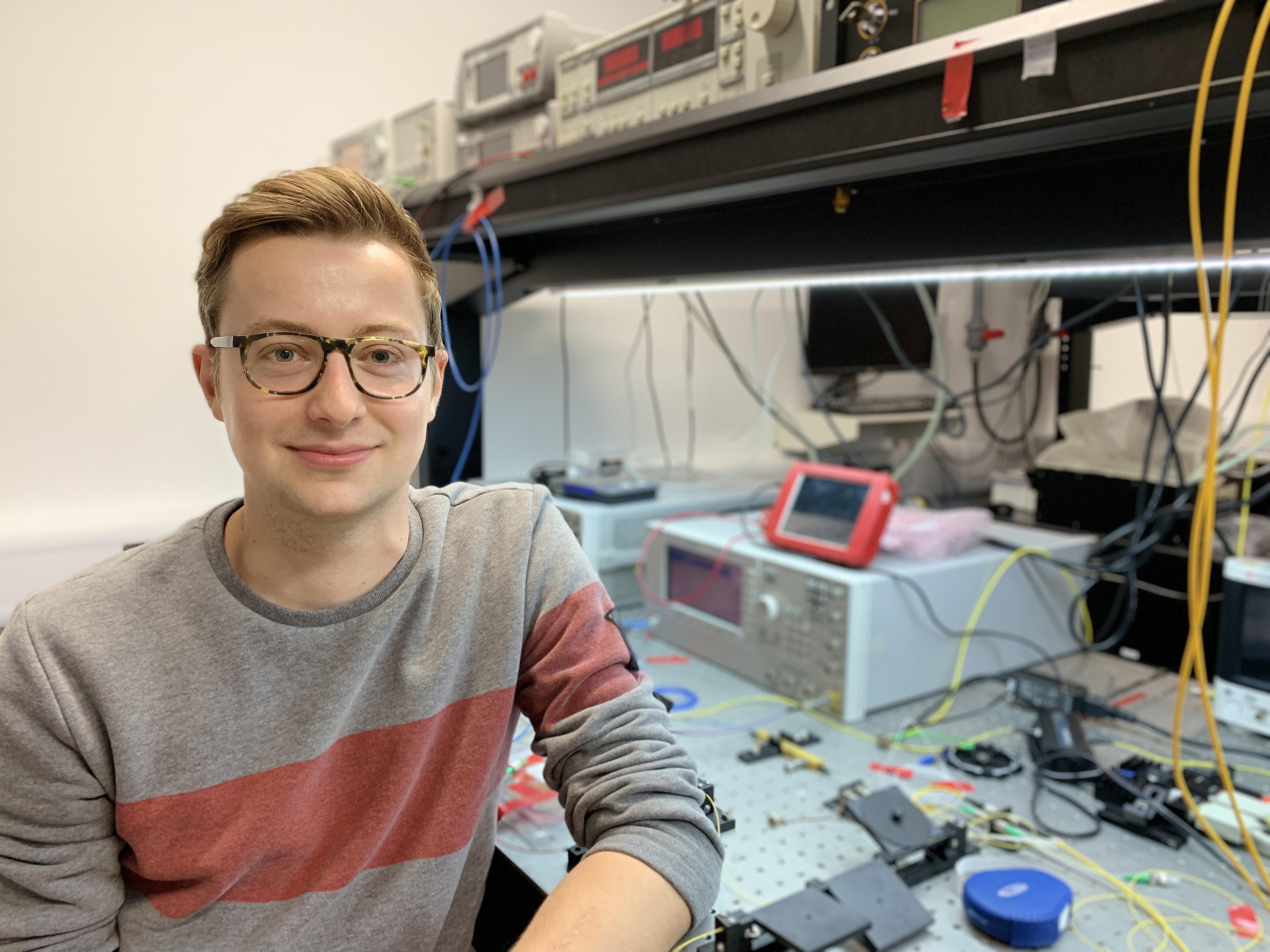 CGC student Jakob E. Muench wins Hamilton prize
